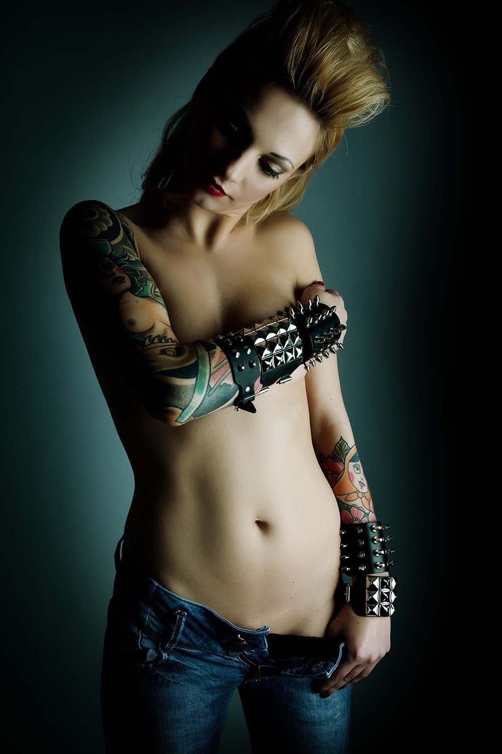 Tattoo - Shooting in meinem Studio